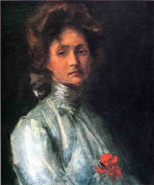 William Merritt Chase - Portret mlade žene