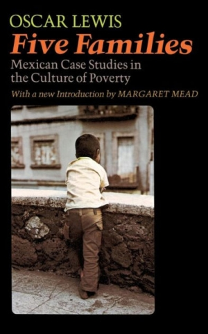 Book cover design for Five Families: Mexican Case Studies in the Culture of Poverty